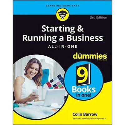 Starting & Running a Business All–in–One For Dummies 3rd UK edition Barrow, Coli