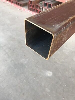 "4"" X 4"" X 36"" Steel Square Tube 11ga Tubing Wall Steel Brace Support Weld Primed"