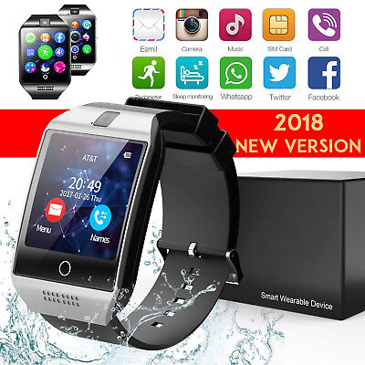 Q18 Touch Screen Smart Watch Wrist Bluetooth SIM Card Camera For Android Hot