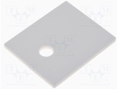 Thermally conductive pad: ceramic; TO218,TO247; L:21mm; W:25mm [1 pcs]