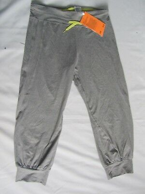 Girl's H&M new grey joggers, size 12-14 years