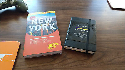 Marco Polo New York guide book & Moleskine New York notebook