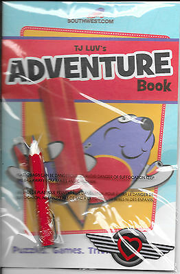 Southwest Airlines Adventure Book - New In Package - Official