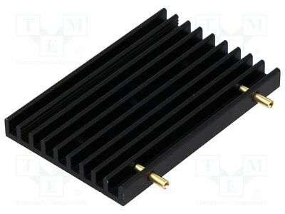 Heatsink: extruded; grilled; TO218,TO220,TO247,TO248,TO3P; black [1 pcs]