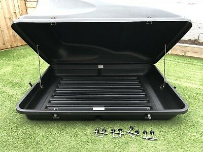 Auto-Plas A415 Roof Box. 430ltr Roof Box Great Condition With Key