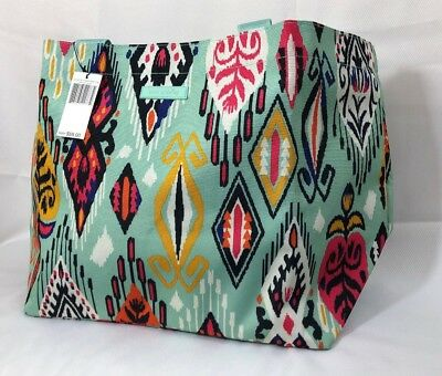 Vera Bradley Lighten Up Large Family Tote Bag~Great Gift With Free Shipping!