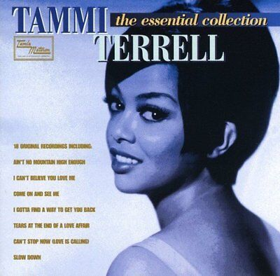 TAMMI TERRELL The Essential Collection NEW & SEALED CLASSIC SOUL MOTOWN CD R&B