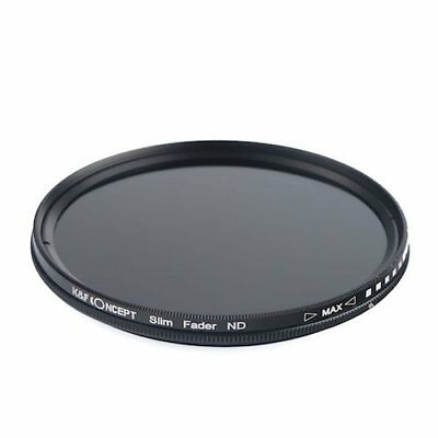K F Concept ND filter 82mm KF-NDX82 variable NDX dimming range ND2 ND40... JAPAN