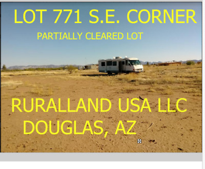 CLEARED BUILDABLE LOT w/ RE-BAR IN DOUGLAS, AZ IN COLLEGE PARK