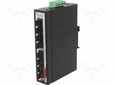 Industrial module: switch Ethernet; unmanaged; 12÷48VDC; RJ45[1 pcs]