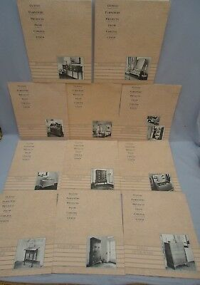 11 Furniture Project Woodworking Design Plan Instructions BED Desk TABLES Chest