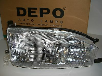 Headlight Embly Front Right Depot 312 1103r As Fits 92 94 Toyota Camry