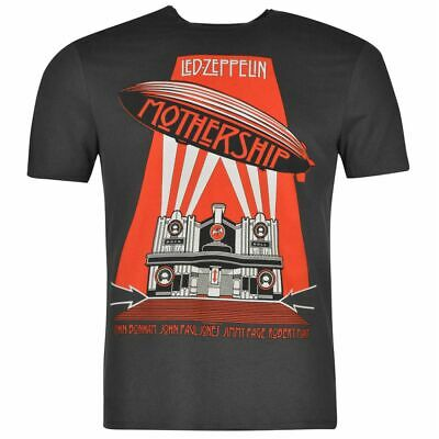 Mens T Shirt Crew Neck Amplified Clothing Led Zeppelin New