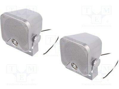 Car loudspeakers; two-way; 110x110x101mm; 90W; 95÷22000Hz; 4Ohm [1 set]