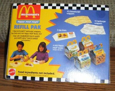 1993 MCDONALDS HAPPY MEAL MAGIC REFILL PAK Mint in Sealed Box