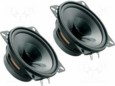 Car loudspeakers; 100mm; 40W; 90÷13000Hz; 2 loudspeakers; 4Ohm; 37mm [1 set]