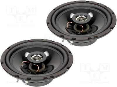 Car loudspeakers; two-way; 165mm; 120W; 65÷20000Hz; 4Ohm; 60mm; -90dB [1 set]