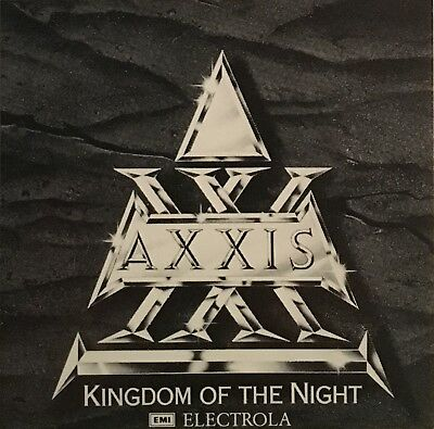 AXXIS - Kingdom Of The Night - Aufkleber / Sticker - Sammlerstück