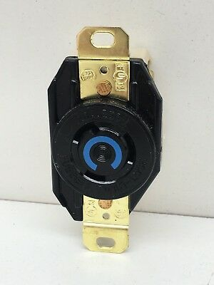 Hubbell HBL2320 Twist-Lock Turn Locking Receptacle Outlet 20A 250V L6-20R