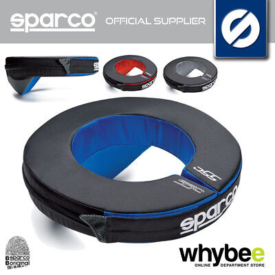 New! Sparco Karting Neck Support Collar Closure Adult & Childrens Sizes