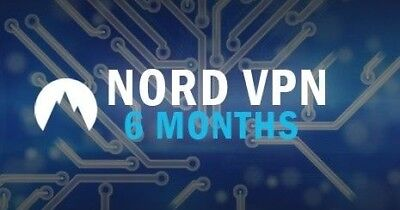 NordVPN (6 month subscription, Lifetime warranty) Nord VPN
