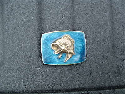 Large Mouth Bass Belt Buckle Made In Usa By Great American Buckle Co Chicago