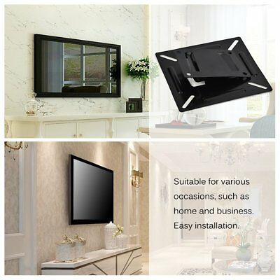 TV Wall Mount Bracket for 14-24'' LCD LED Monitor Flat TV PC Display Universal