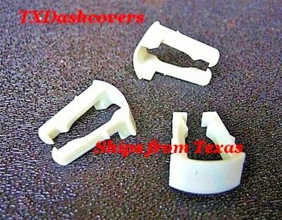 """*Set of 5* Ford White 5//16/"""" Fuel Line Retainer Clips N806191-S1901 *FREE SHIP*"""