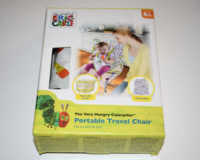 Eric Carle Very Hungry Caterpillar Portable High Chair - NIB