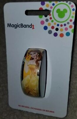 NEW Disney Parks Belle Yellow Dress Beauty And Beast Magic Band 2 LINK IT LATER