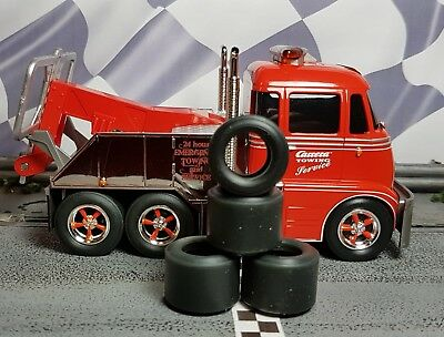 1/32 PAULGAGE SLOT CAR TIRES 2pr PGT-221711XXD fit CARRERA Tow & Fire Truck