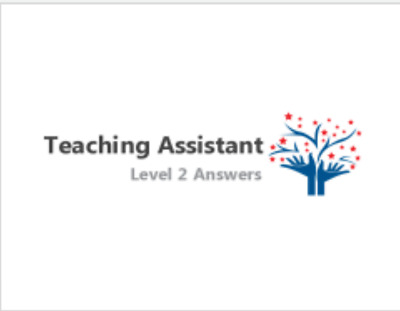 STLNVQ Cache Teaching Assistant Level 2 Supporting Teaching and Learning Answers