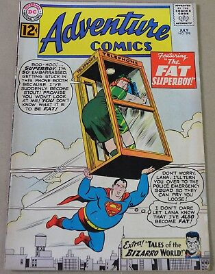 ADVENTURE COMICS #298 (DC, 1962) Bizarro backup feature. SILVER AGE!!