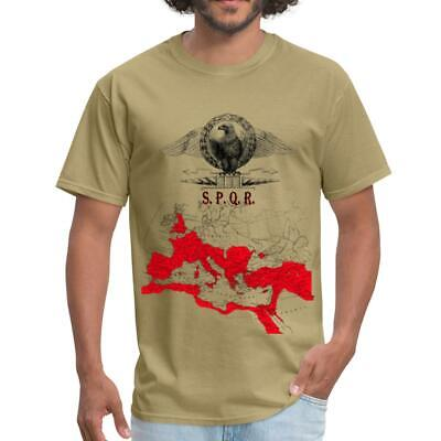 SPQR Roman Empire Map Men's T-Shirt by Spreadshirt™