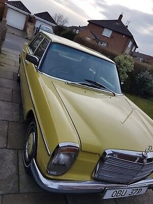 Stunning Tax + MOT Exempt 230.4 CAN DELIVER Leather W115 automatic /8 same W114