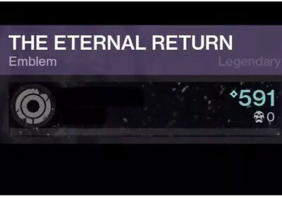 SOLO SHATTERED THRONE Emblem(The Eternal Return) XBL 100% Positive Reviews