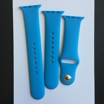 Apple Watch New 38mm Blue Sport Band Small/Med Med/Large Genuine Authentic