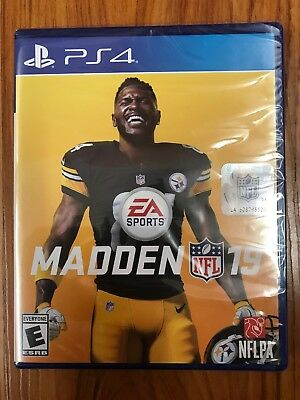 Madden NFL 19 - Standard Edition (Sony PlayStation 4, 2018) BRAND NEW SEALED