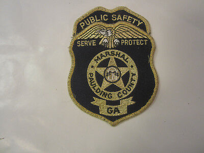 PAULDING COUNTY GEORGIA GA Serve Protect MARSHAL SHERIFF POLICE PATCH