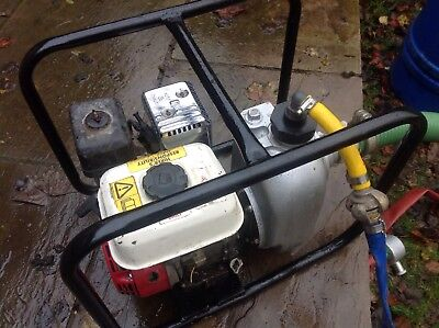 "Honda Alcon 2"" Heavy Duty PETROL WATER PUMP Flood Pump 500l Min"