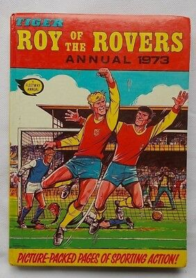 Tiger : Roy Of The Rovers Annual 1973 Gordon Banks Bobby Moore Gary Player