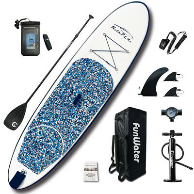 SUP Board Stand Up Paddle Surf-Board aufblasbar inkl. Paddel ISUP Paddling 305cm