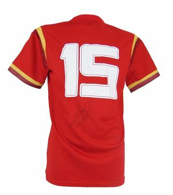 Signed Leigh Halfpenny Shirt, Wales Rugby No.15 Jersey + *certificate*