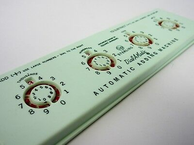 Vintage Sterling Dial-A-Matic Automatic Adding Machine Used #565