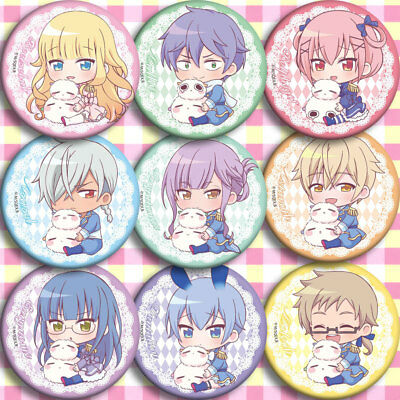 18pcs Sets Badge Pin Button Itabag Bags Garniture Touhou Project Anime Gift
