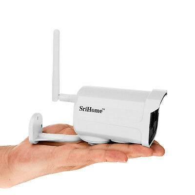 Sricam SH024 1080P FHD WIFI Wireless Outdoor ONVIF CCTV IP Camera Night Vision