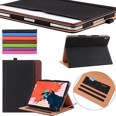 iPad Pro 11 Inch 2018 New Soft Leather Smart Cover Case Sleep Wake For Apple