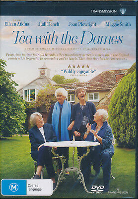 Tea With The Dames DVD NEW Region 4 Eileen Atkins Maggie Smith