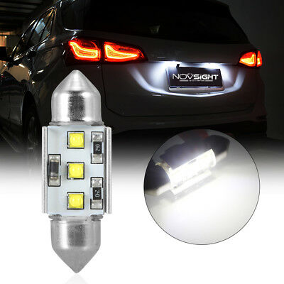 1Pcs 36mm CREE Festoon LED Lights Interior Dome License Plate Lamps Bulbs White