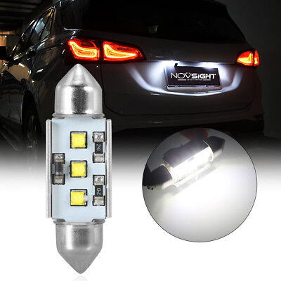 1Pcs 39mm CREE Festoon LED Light Car Auto Interior Dome License Plate Bulb Lamps